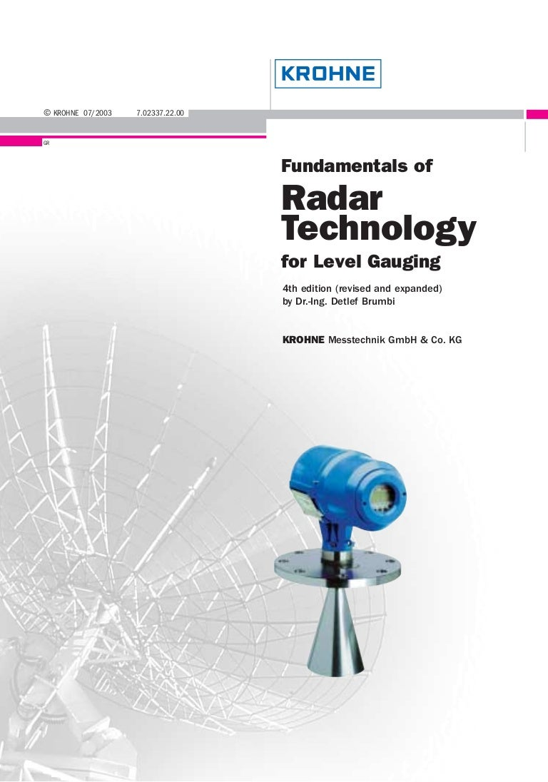 Fundamentals Of Radar Technology For Level Gauging Type Digital Multimeter Principle Circuit Basiccircuit