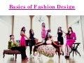 Everon Clarke - Basics of fashion new one