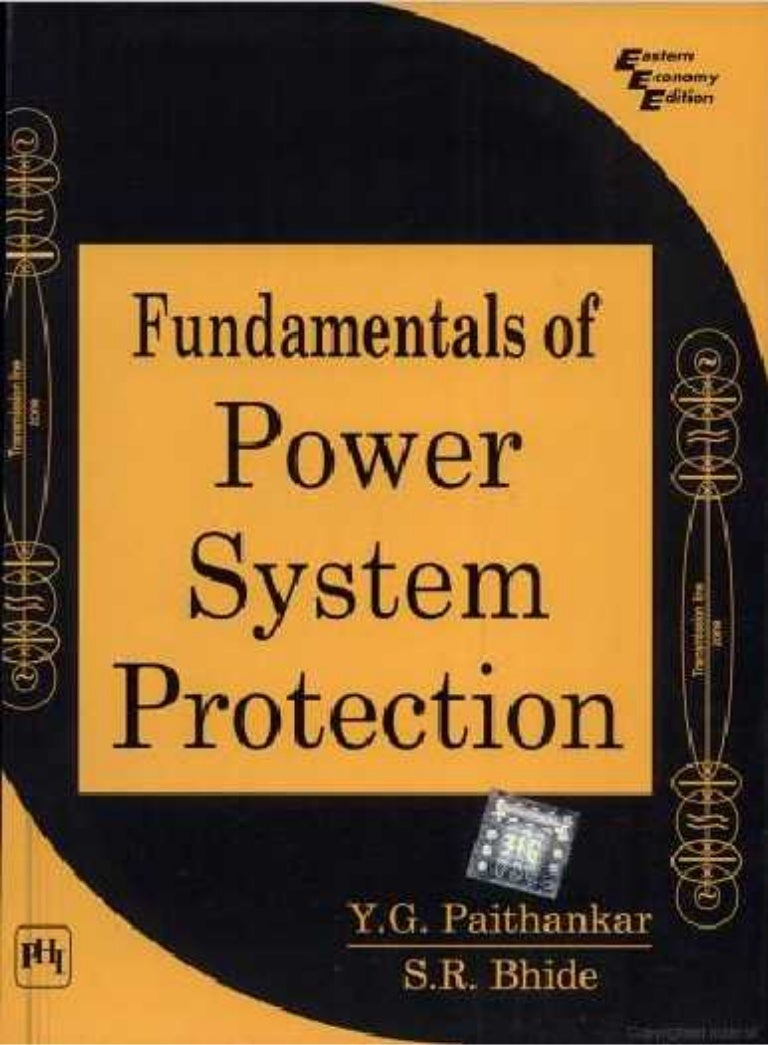 Fundamentals Of Power System Protection By Ygpaithankar And Srbhi Mho Relay Working Principle