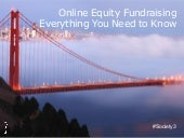 Equity Fundraising webcast july 23 2015