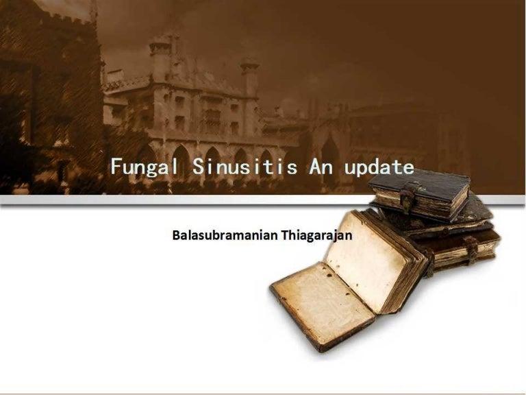 Fungal sinusitis an update toneelgroepblik Image collections