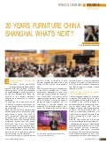 20 Years Furniture China Shanghai. What's next?