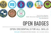 Open Badges – Open Credentials for All Skills