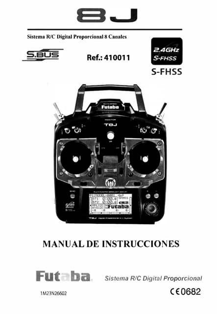 Manual Instrucciones Espa Ol Futaba 10 C