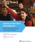 Future of the First Amendment. 2011 Survey of High School Students and Teachers (Knight Foundation) -SEP11