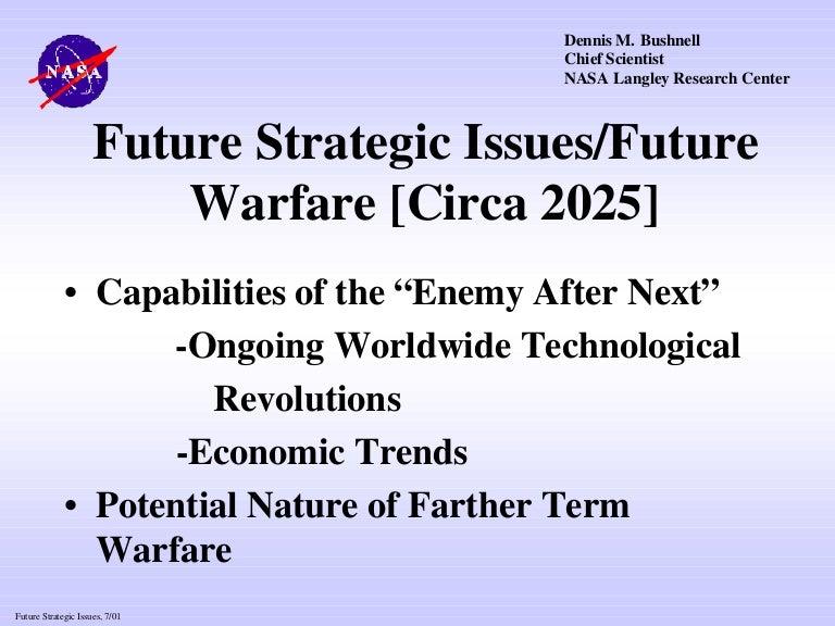 nasa future strategic issues/future warfare - 768×576