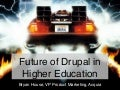 The Future of Drupal in Higher Ed