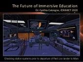 Future of immersive education by calongne