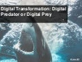 Future of IT Podcast: Digital Transformation- Digital Predator or Digital Prey