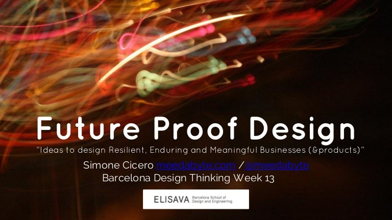 Future Proof Design And The Platform Canvas