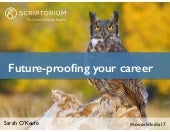 Future-proofing your career
