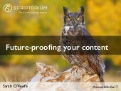 Future-proofing your content