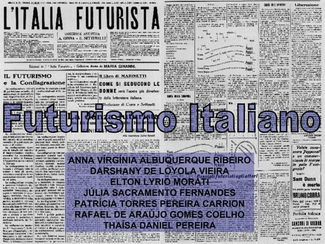 Futurismo Italiano