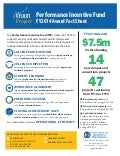 FY2014 Performance Incentive Fund Fact Sheet