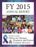 FY 2015 Office for Women and Domestic and Sexual Violence Services Annual Report