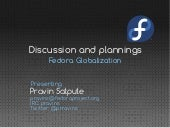 Fedora Globalization status and discussion