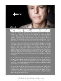 2016 Veterans Well-Being Survey