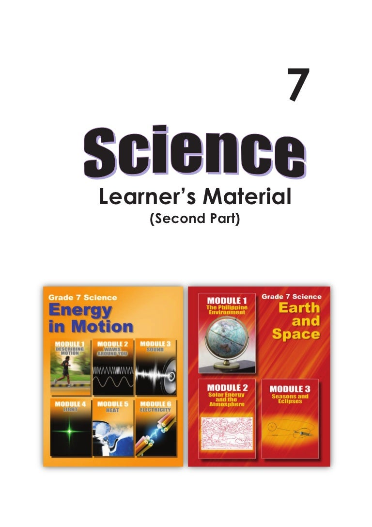 Deped Science 7 Learners Module Part 2 Generation Of 1 Sec Pulses Spaced 5 Apart