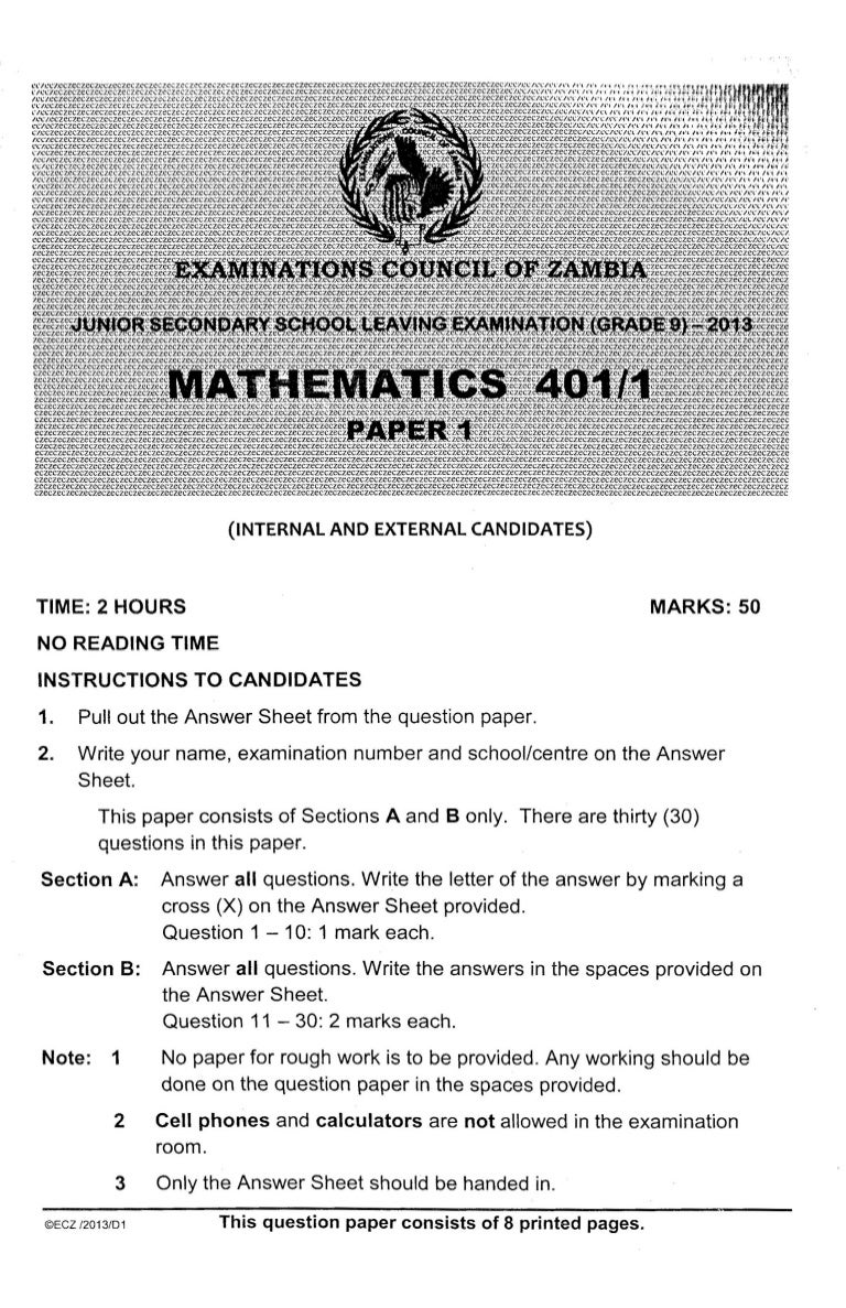 KCSE 2020. KCSE MATHEMATICS PAPER 1 2019. kcse past papers ...  |Mathematics Past Paper 2020