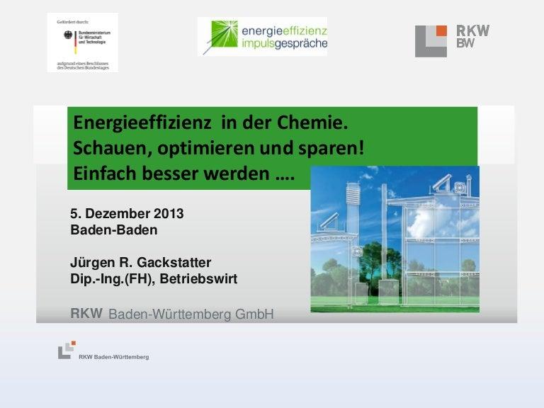 """Vortrag """"Schauen, Optimieren, Sparen: in den Betrieben noch besser werden"""" von Jürgen Gackstatter."""