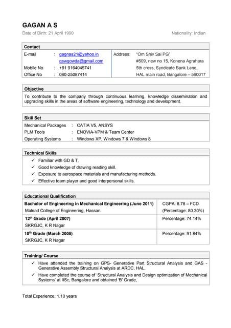 Order resume online uk clothes