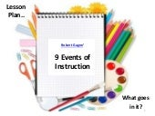 Robert Gagne - 9 Events of Instruction Explained