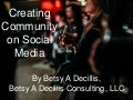 Creating Community on Social Media