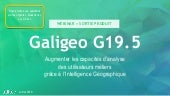 Galigeo G19.5 - Intelligence Géographique Product release