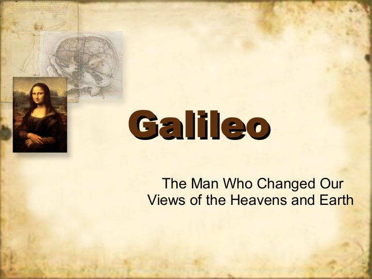 galileo research paper presentation