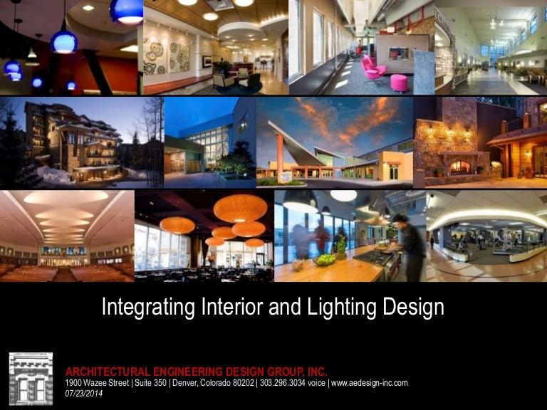 integrating interior design lighting design and electrical engineeri