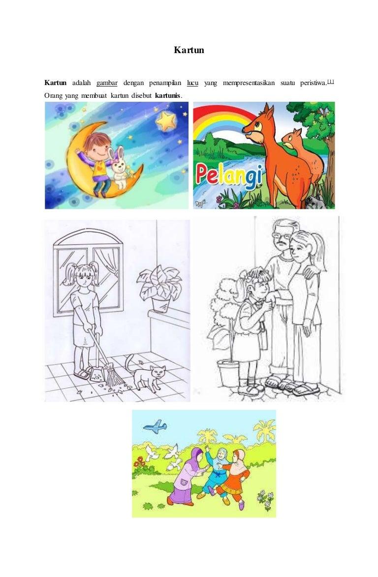 Gambar Ilustrasi Kartun Karikartur Komik Dan Ilustrasi Karya Sastra