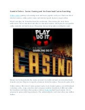 free online casino no download