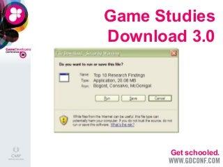 Game Studies Download 3.0