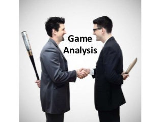 Game analysis - Transactional Analysis