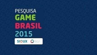 Games Research Brasil 2015(English Version)
