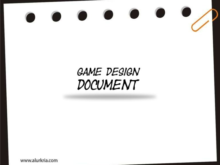 Game Design Document - Game design document download