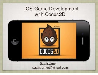 Game development with Cocos2d