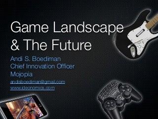 Game Landscape & The Future