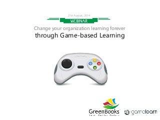 Game-based Learning Webinar by GreenBooks & Gamelearn