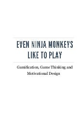 Game Thinking - Free Chapter from Even Ninja Monkeys Like to Play
