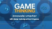 Game thinking for rapid innovation