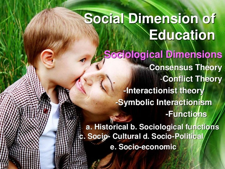 Introduction To The Social Dimension Of Education Gamilla Vinson S