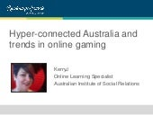 Hyper-connected Australia and online gambling