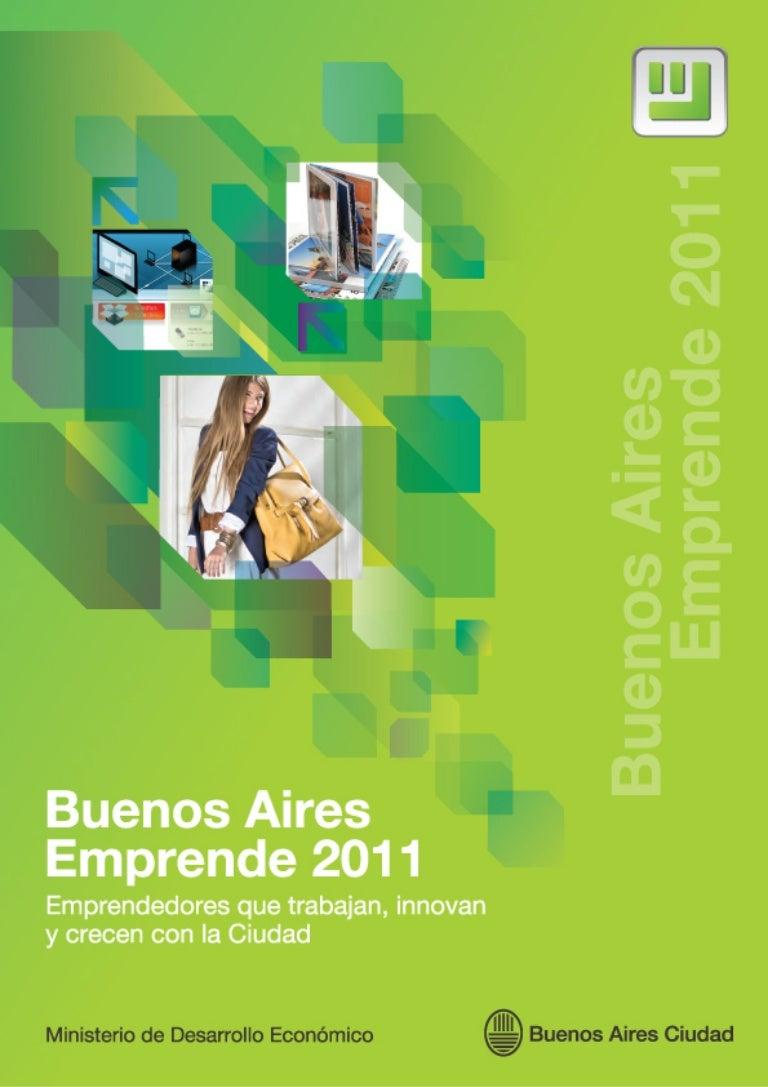 Ganadores del concurso Buenos Aires Emprende 2011