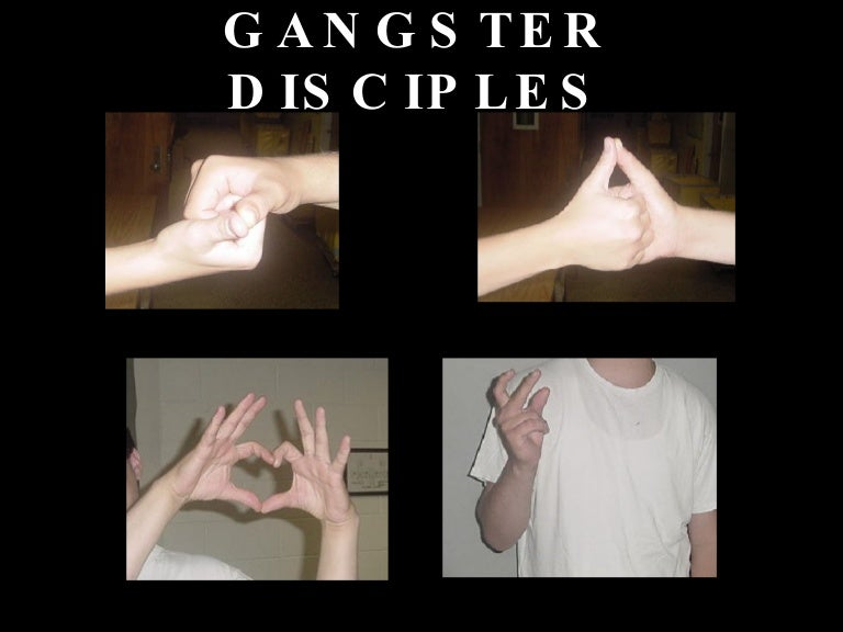 Black Gangster Disciples Hand Signs