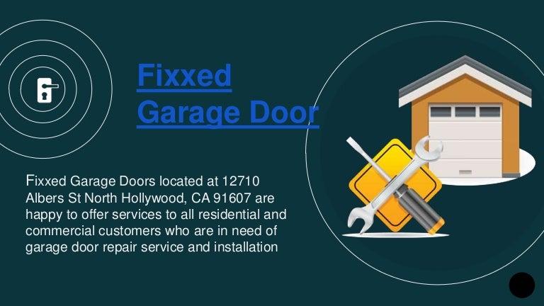 Garage Door Repair North Hollywood Garage Door Repair Los Angeles