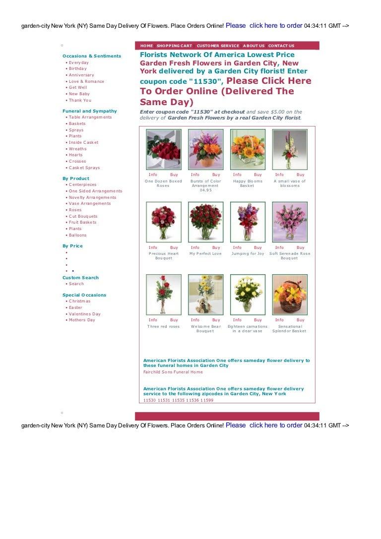 garden city flower shops and florists wholesale rate