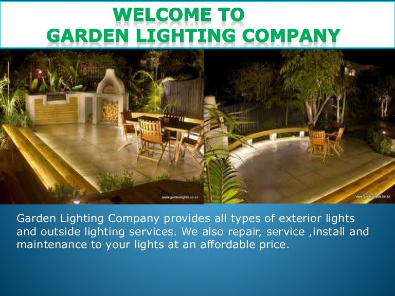 Garden lighting company outdoor lighting mozeypictures Choice Image