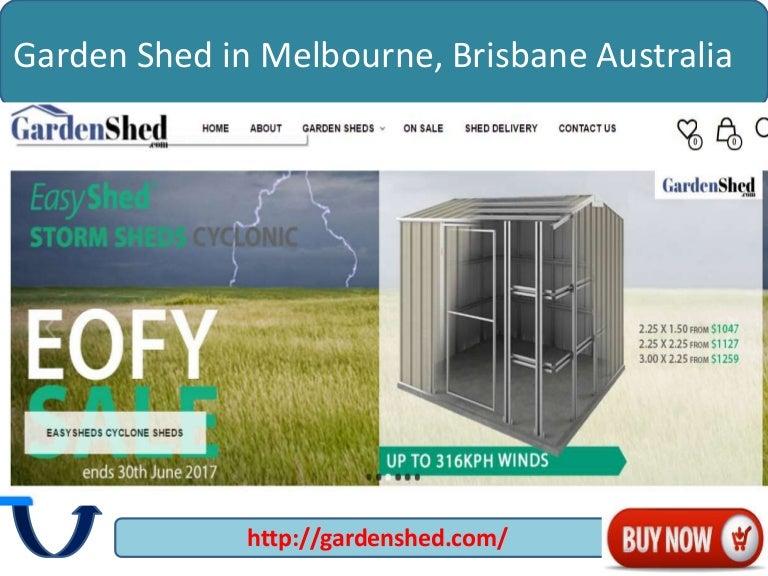 Garden Sheds Vic garden shed in melbourne, brisbane australia