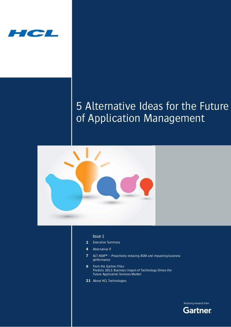 5 Alternative Ideas for the Future of Application Management (courtes…